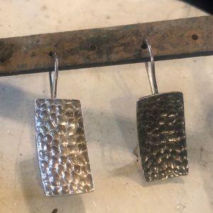 Vintage & Rare Silpada Used Locking Earrings